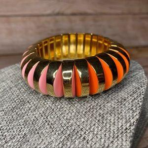 Kate Spade VIBRANT LIFE Lucite Pink/Gold Bracelet